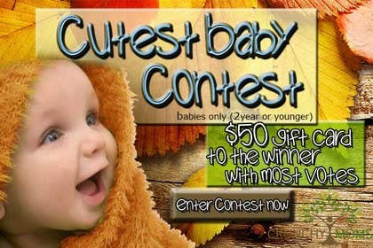 #5 for Design a Banner for Cutest Baby Contest by lalice88