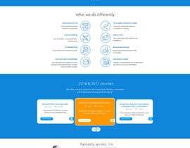Nro 54 kilpailuun Design a Website Mockup käyttäjältä phantham