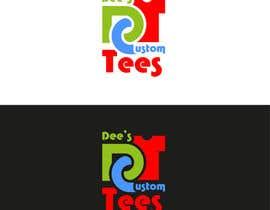 YuriiMak tarafından Design a Logo for Dee's Custom Tees (DCT) için no 58