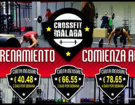 #30 for Design a flyer for Crossfit Malaga af bigsesos