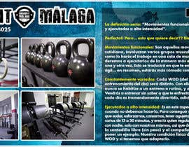 #26 for Design a flyer for Crossfit Malaga af RERTHUSI