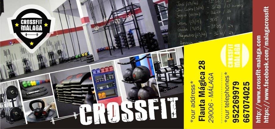 Kilpailutyö #33 kilpailussa Design a flyer for Crossfit Malaga