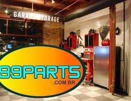 #10 para Logo for Autoparts Website ( 99parts ) por Paleruby