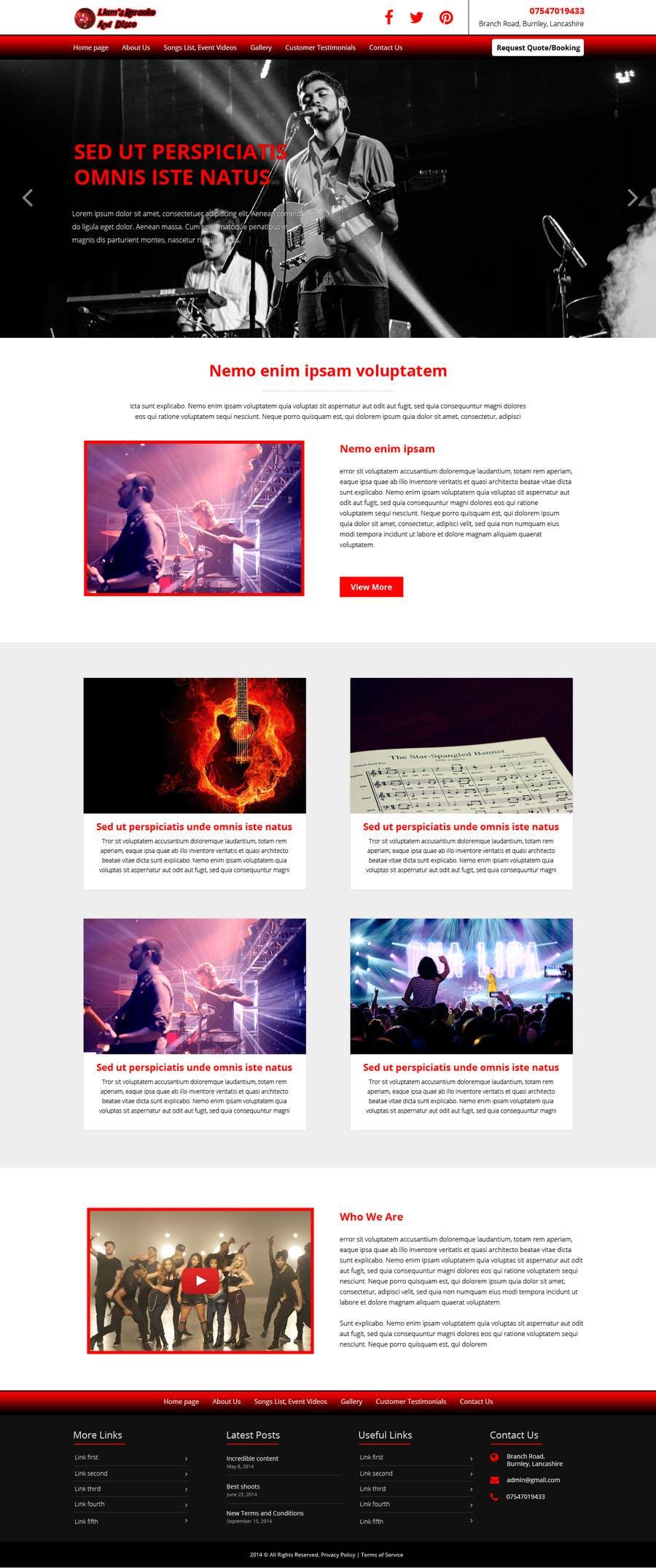 Entry 7 By Avinaykumarweb For Bold Dynamic Creative Website