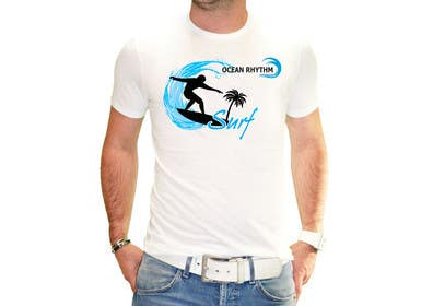 nº 10 pour Design a T-Shirt for OCEAN RHYTHM par GraphiqueStyle