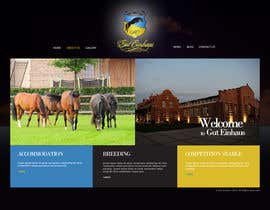 nº 20 pour Design a Website Mockup for Horse Stable par Macroads