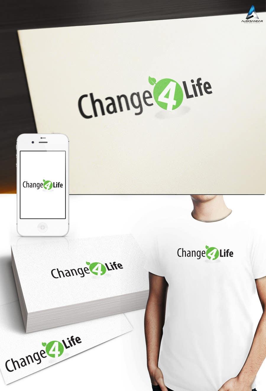 Конкурсная заявка №12 для Logo Design for Change 4 Life