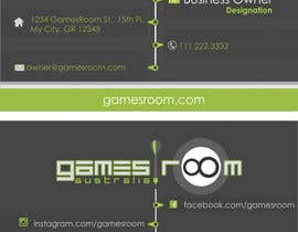 nº 253 pour Design a Logo for gamesroom australia par abhig84