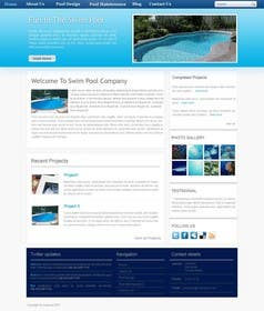 #13 for Wordpress Responsive Theme Swimming Pool Service by fathimak