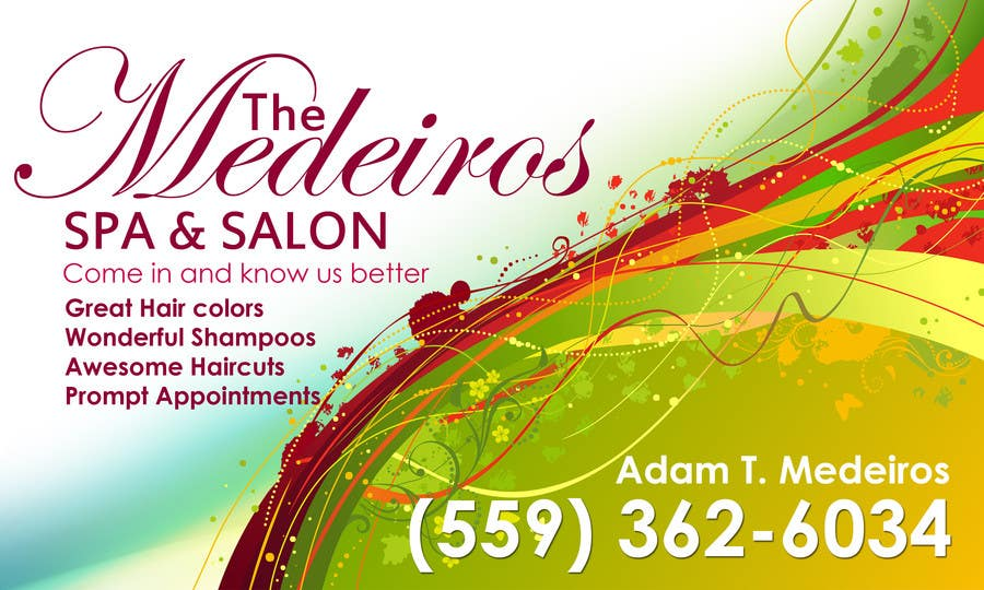 #133 for Design a Banner for a Salon and Spa by Sahir75
