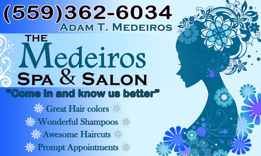 #115 for Design a Banner for a Salon and Spa by akritidas21