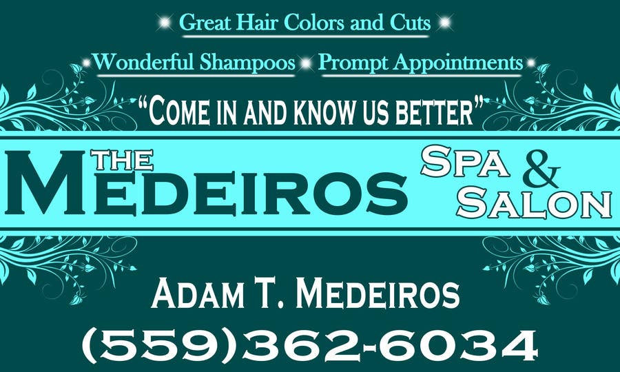 #153 for Design a Banner for a Salon and Spa by akritidas21