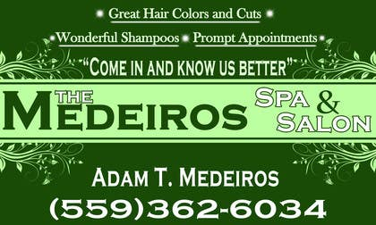 #156 para Design a Banner for a Salon and Spa por akritidas21