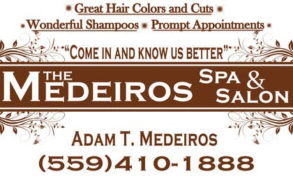 #157 para Design a Banner for a Salon and Spa por akritidas21