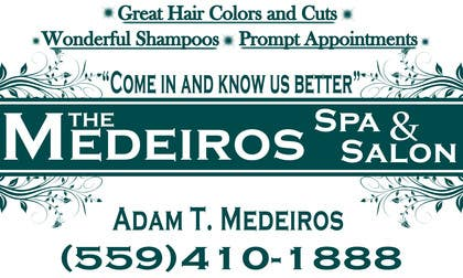 #159 para Design a Banner for a Salon and Spa por akritidas21