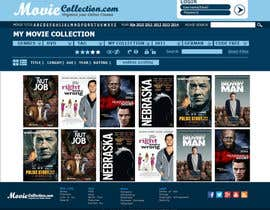 #24 para Design a Website Mockup for online movie collection por Ashleyperez