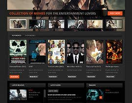#14 para Design a Website Mockup for online movie collection por eeemizan