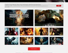 #17 para Design a Website Mockup for online movie collection por preside
