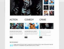 #19 para Design a Website Mockup for online movie collection por preside