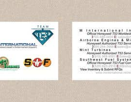#22 para Design some Business Cards for M International's Team T53 por greendesygns