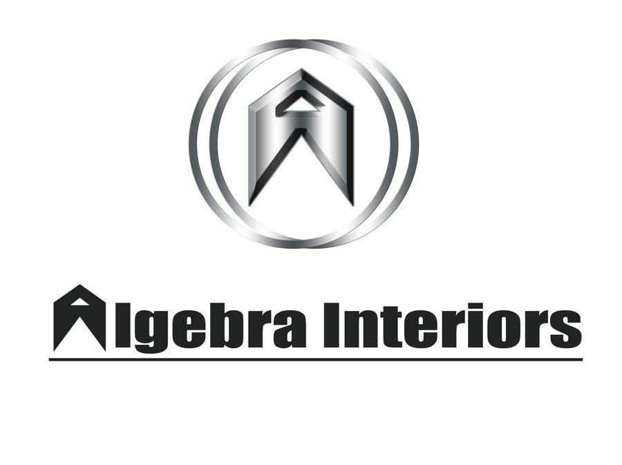 Penyertaan Peraduan #102 untuk Logo Design for Algebra Interiors