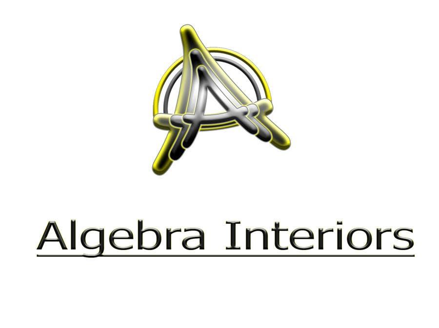 Inscrição nº 105 do Concurso para Logo Design for Algebra Interiors
