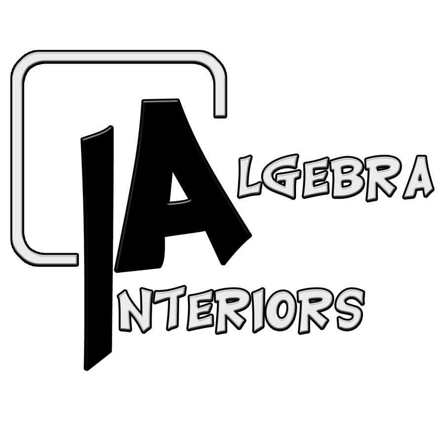 Penyertaan Peraduan #25 untuk Logo Design for Algebra Interiors