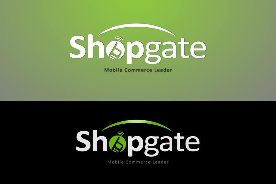 Penyertaan Peraduan #98 untuk Design a Logo for Shopgate.com