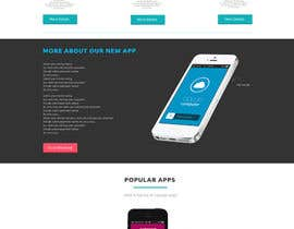 #10 for Design a Website Mockup for iPhone Application Website by roshanthilanga4