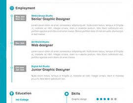 #13 for Designing a template for resume (curriculum) af Aehandasa