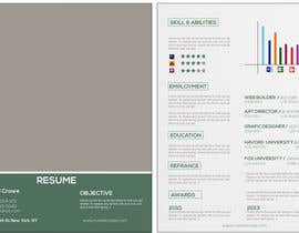 #17 for Designing a template for resume (curriculum) af fo2shawy001