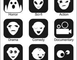 #12 for Design some Icons Film Genre's by moro2707