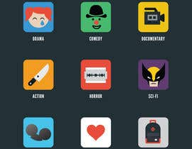 #10 for Design some Icons Film Genre's by estudioviral