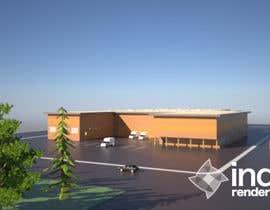Nro 12 kilpailuun Industrial Building Rendering käyttäjältä cmrama