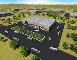 Nro 2 kilpailuun Industrial Building Rendering käyttäjältä haihothi