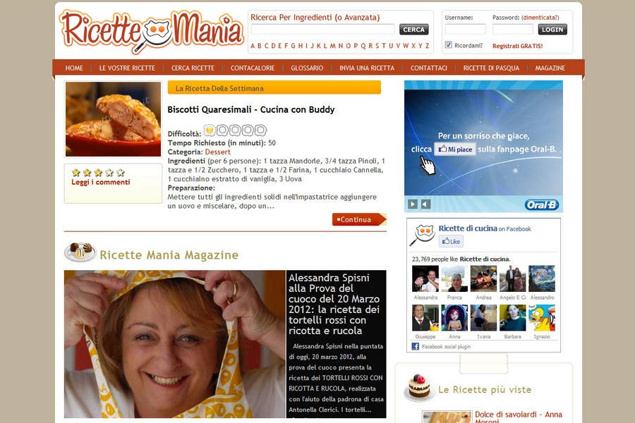 Entri Kontes #31 untukLogo Design for recipe site