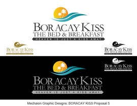 #307 untuk Design a Logo for Boracay Kiss - The Bed and Breakfast oleh Mechaion