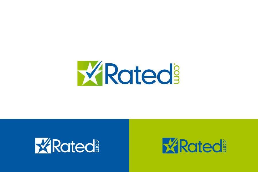 Inscrição nº 72 do Concurso para Design a Logo for Rated.com