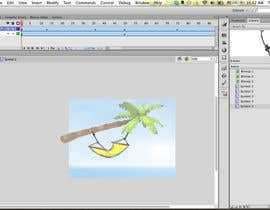 #6 for Cartoon Scene: Design : Flash : Animation by tharm