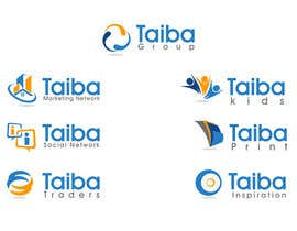 nº 23 pour TAIBA Group Logos & Promotional Items par thimsbell