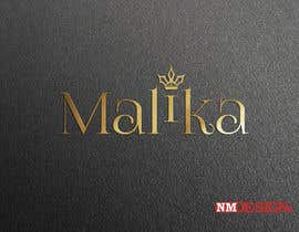 #53 for Design Logo for Malika by nmdxb7