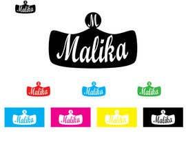 #89 for Design Logo for Malika by rayoujines