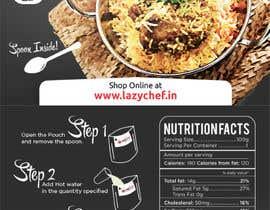 adrizing tarafından Design a Label for Food Product için no 17