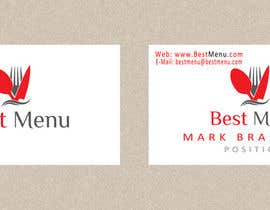 #67 cho Design some Business Cards for Catering Company bởi greendesygns