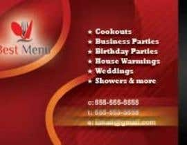 #49 untuk Design some Business Cards for Catering Company oleh rizwanqadri12