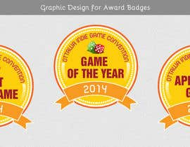 #28 for I need some Graphic Design for Award Badges af VrushaliSingh