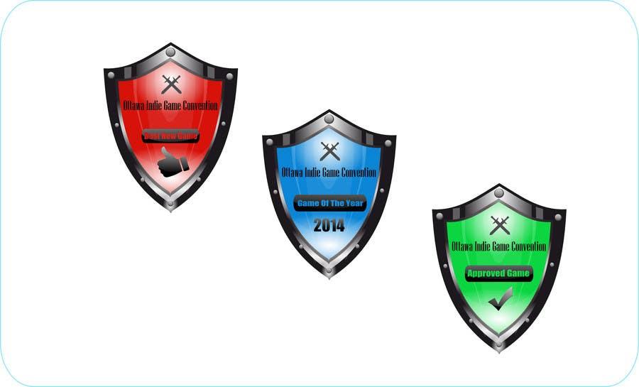 Inscrição nº 26 do Concurso para I need some Graphic Design for Award Badges