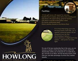 #30 untuk Brochure Design for Howlong Country Golf Club oleh creationz2011