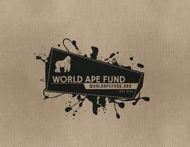 ShirtMonkey tarafından Design a logo for the not-for-profit World Ape Fund için no 3
