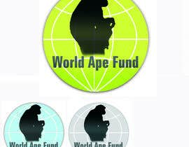 estela51 tarafından Design a logo for the not-for-profit World Ape Fund için no 8
